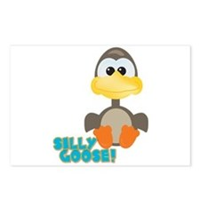 Goofkins Silly Silly Goose Postcards (Package of 8