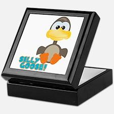 Goofkins Silly Silly Goose Keepsake Box