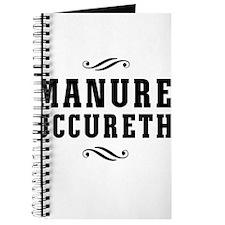 Manure Occureth Journal