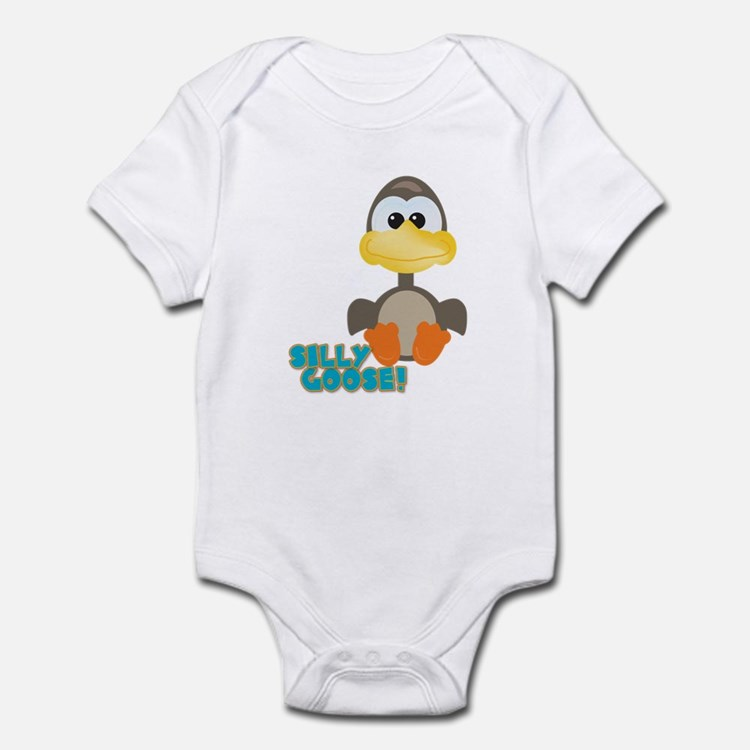 Goofkins Silly Silly Goose Infant Bodysuit
