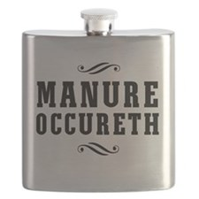 Manure Occureth Flask