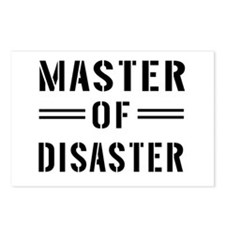 Master Of Disaster Postcards (Package of 8)