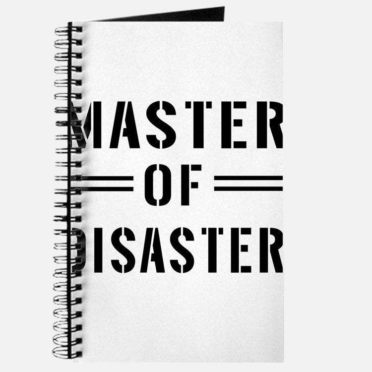 Master Of Disaster Journal
