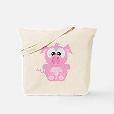 Goofkins Cute Little Piggy Tote Bag