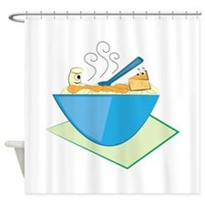 Mac & Cheese Shower Curtain