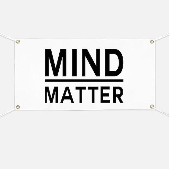 Mind Matter Banner
