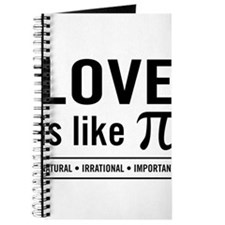 Love is like pi Journal