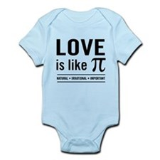 Love is like pi Body Suit