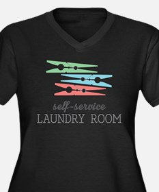 Stacked Clothespins Plus Size T-Shirt
