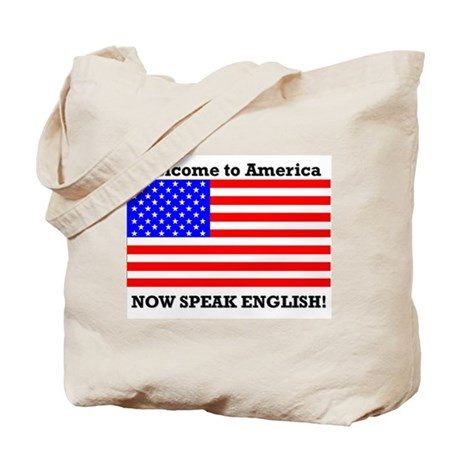 Tote Bag-Welcome to America