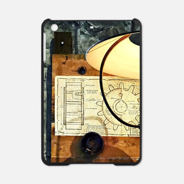Blueprint Of Gear iPad Mini Case