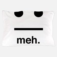 Meh face Pillow Case