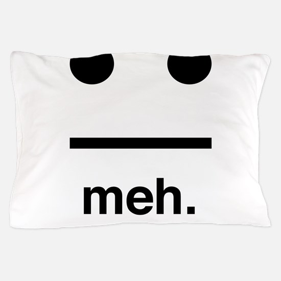 Meh face Pillow Case