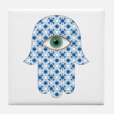 Hamsa hand Tile Coaster