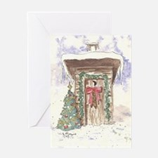 Cute Outhouse Greeting Card