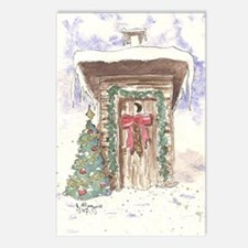 Cute Outhouse Postcards (Package of 8)