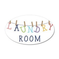 Laundry Hanging Wall Decal