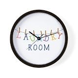 Laundry room Wall Clocks