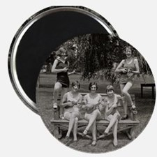 Flappers in Bathing Suits, 1926 Magnets