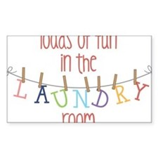 Laundry Hanging Decal
