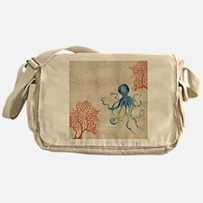 Cute Red fish Messenger Bag