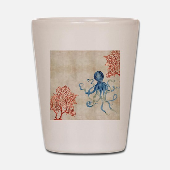 Funny Octopus Shot Glass