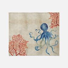 Unique Octopus Throw Blanket