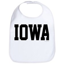 Iowa Jersey Black Bib