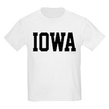 Iowa Jersey Black T-Shirt