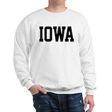 Iowa Jersey Black Sweatshirt