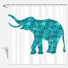 Cool Elephants Shower Curtain