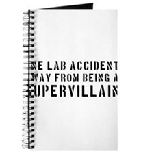 One lab accident supervillain Journal