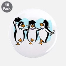 """Funny Penguins 3.5"""" Button (10 pack)"""