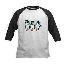 Graduation Dancing Penguins Baseball Jersey