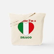 Drago, Valentine's Day Tote Bag
