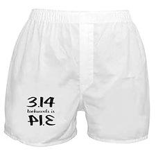 Pie backwards Boxer Shorts