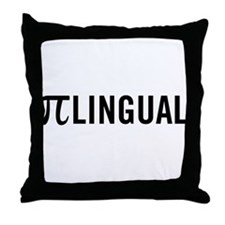 Pilingual Throw Pillow