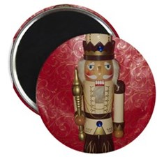 Nutcracker Round Magnet Magnets