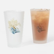 Cute Shells Drinking Glass