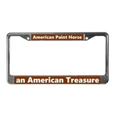 American Paint Horse License Plate Frame