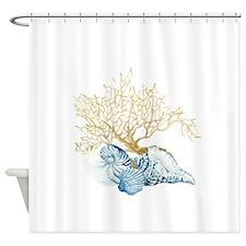Unique Tropical watercolor Shower Curtain