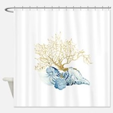 Funny Scallop Shower Curtain