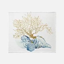 Unique Coral Throw Blanket