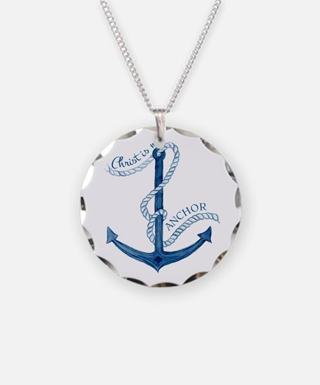 Jesus Christ is my Anchor Na Necklace