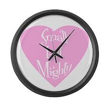 Cute Cute small Large Wall Clock