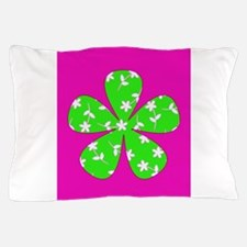 Pink Patterned Floral Miracle 312 Pillow Case