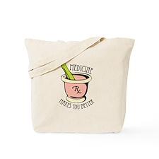 Medicine Rx Tote Bag