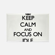 Keep Calm and focus on Idle Magnets
