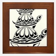Trio of Turtles Framed Tile