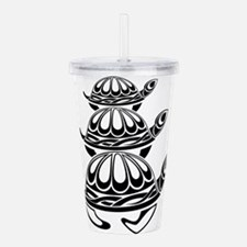 Trio of Turtles Acrylic Double-wall Tumbler